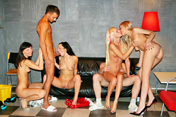 Hanging out with hot college sluts, part 4
