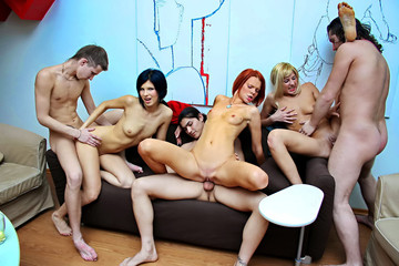 Student sex friends party all night long, part 4